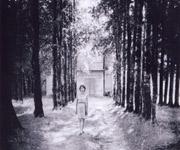 Бывшая школа в Верхнем Рощино, 1968 год